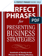 Perfect Phrases for Presenting Business Strategies (1)