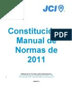 Constitucion y Manual de Normas 2011