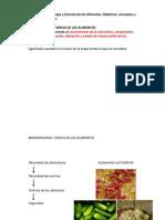 Bromatología - La ciencia de los alimentos