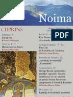 Fimirida Noima / Revista Noima nr. 1