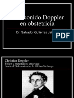 Ultrasonido Doppler en Obstetricia