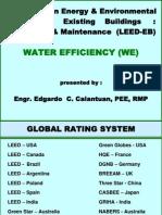 Leed-eb Water Efficiency