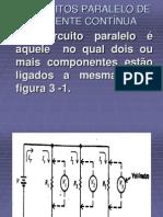 3  CIRCUITOS PARALELO DE CORRENTE CONTÍNUA