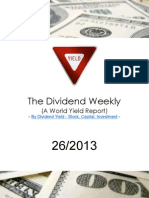 Dividend Weekly 26_2013