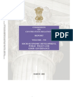 Punchhi Commission Report Volume 7 on Centre State Relaitons.