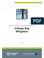 Voltage Sag Mitigation August 2012 Technical Note 11