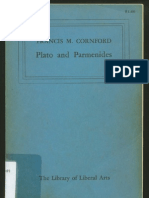 Hannah Arendt's personal library - Cornford Parmenides