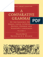A Comparative Grammar
