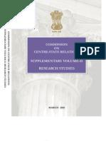Supplementary Vol II- Research Studies