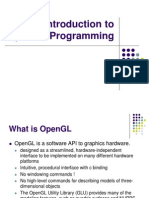 OpenGL presentations introduction