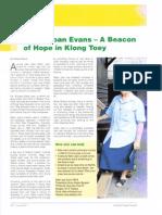Sister Joan Evans - A Beacon of Hope in Klong Toey