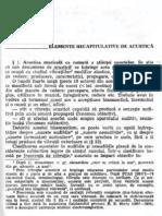 Acustică Muzicală -  Dem Urma