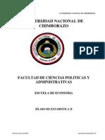 SÍLABO+estadistica 2 Ing.LuisPaucar Economia