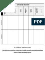 Estrategias de Comunicación (Matriz 1)