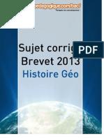 Corrigé Brevet 2013 - Histoire Géographie Education civique.pdf