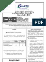 S03 P - Profissional de Operação V - Engenheiro Civil