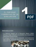 EL ENFOQUE FORMATIVO DE LA EVALUACIÓN 1