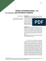 O TRIBUNAL PENAL INTERNACIONAL E A OPOSIÇÃO DOS EUA.pdf