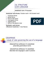 English Morphology