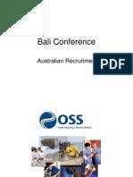 11 OSS Australian Recruitment