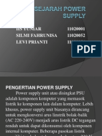 Sejarah Power Supply