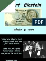 Albert Enstein Ganduri Si Vorbe(117)