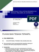 10 Peraturan Visa Untuk Tenaga Terampil Di Australia