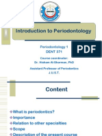 Introduction to Periodontics