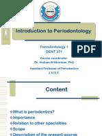 Introduction to Periodontics