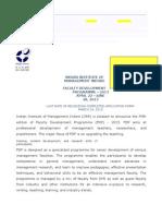 2013 Brochure FDP IIM