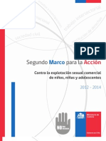 Minjusticia_2do Marco Para La Accion Contra ESCI 2012-2014, 16-8-2012