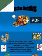 Sustancias Nutritivas II