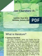 07 American Literature I