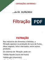 Apostila Filtração
