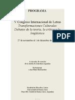 Cil 2012 - Programa 1