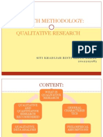 Presentation Qualitative Research