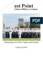Information for New Cadets and Parents v 16