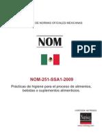 NOM-251-SSA1-2009