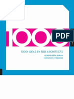 1000 Ideas by 100 Architects OCR