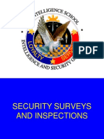 Security Surveys and Inspections
