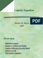Logistic Equation