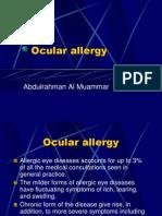 Allergic Conjunctivitis1