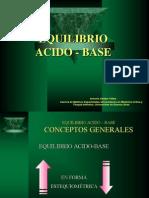 Equilibrio ACIDO-BASE por el Dr Antonio Abdala Yáñez