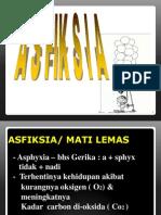 Asfiksia (IRA)