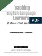 Teaching English Language Learners Grades K-5