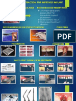 A Traumatic Tooth Extraction for Improved Implant Placement