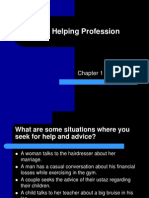 Chapter 1 the Helping Profession