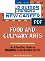 Food and Culinary Arts-Field Guides to Finding a New Career