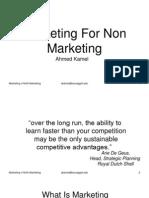 Marketing 4 NoN Marketing
