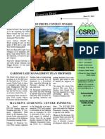 CSRD June 2013 Board in Brief